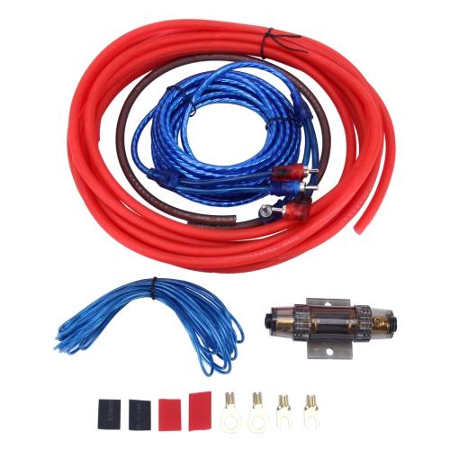 Conjunto del cable kabelkit para amplificadores montaje 10 mm²