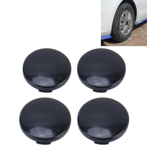 Buy 4 PCS Plastic Car Styling Accessories Car Emblem Badge Sticker Wheel Hub Caps Centre Cover for $2.97 in SUNSKY store