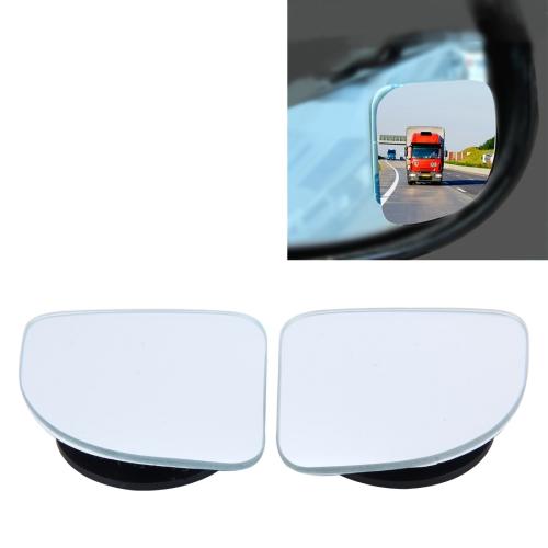 2 PCS ACP-005 Car Blind Spot Rear View Fix/360 Degree Angle Adjustable Wide Angle Mirror фото
