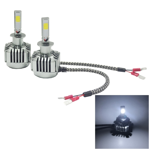 Buy 2 PCS WEIYAO V8 H1 36W 4800LM 6000K White Light Car 2 COB LEDs Headlight Kit, DC 12-24V for $22.59 in SUNSKY store