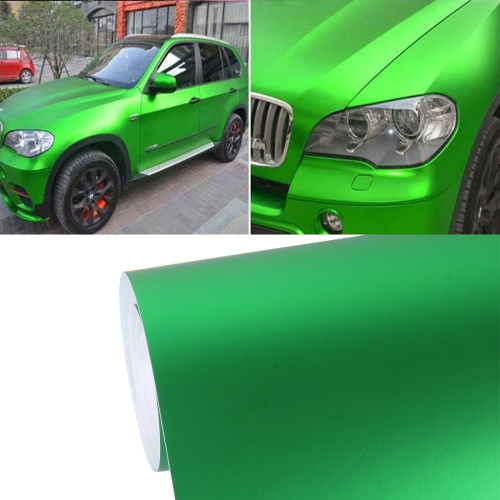 Buy 8m * 0.5m Ice Blue Metallic Matte Icy Ice Car Decal Wrap Auto Wrapping Vehicle Sticker Motorcycle Sheet Tint Vinyl Air Bubble Sticker, Green for $18.19 in SUNSKY store