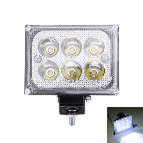Buy 12V 18W 1600LM 6 Epistar LED 180 Degree Work Light Lamp Car LED Light (White Light) for $5.45 in SUNSKY store