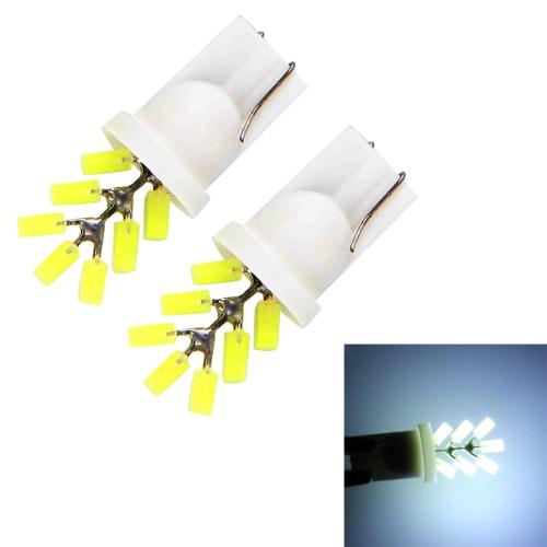 Buy 2 PCS T10 3W 300 LM 6000K 7 LED White Light Clearance Light.DC 12V. for $1.36 in SUNSKY store