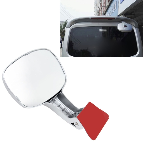 Buy Car Rear Seat Rearview Mirror Back Row Rear View Mirror Children Observed Interior Mirror, Silver for $7.66 in SUNSKY store