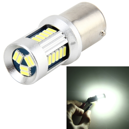 Buy 1156 5W 500 LM 6000K Car Auto Turn Light Backup Light Reversing Lights with 30LEDs SMD-3014 Lamps, DC 12V (White Light) for $6.10 in SUNSKY store