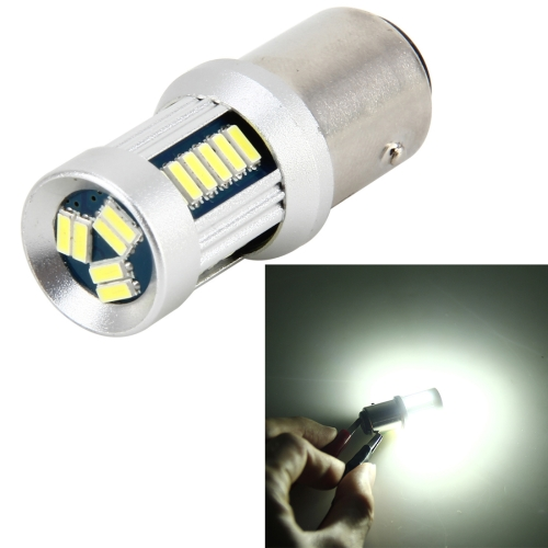 Buy 1157 5W 500LM 30LEDs DC 12V 6000K SMD-3014 Car Auto Brake Light Turn Lights (White Light) for $6.13 in SUNSKY store