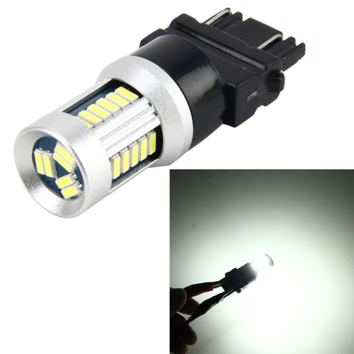 Buy 3157 5W 500LM 30LEDs DC 12V 6000K SMD-3014 Car Auto Brake Light Turn Lights (White Light) for $6.08 in SUNSKY store