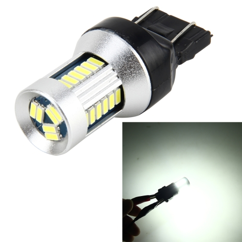 7440 5W 500 LM 6000K Car Auto Turn Light Backup Light Reversing Lights with 30LEDs SMD-3014 Lamps, DC 12V (White Light)