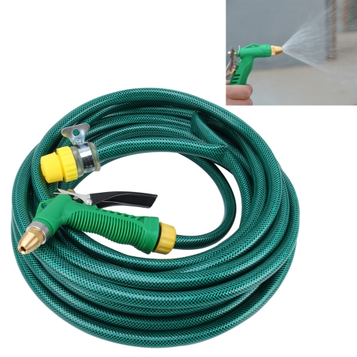 Buy High Pressure Pure Copper Hose Nozzle Sprayer for Car Washing Garden/Lawn Watering Room/Deck/Floor Cleaning Support Adjustable Water Flow with 20m PVC Rubber Anti-frozen Hose for $9.66 in SUNSKY store
