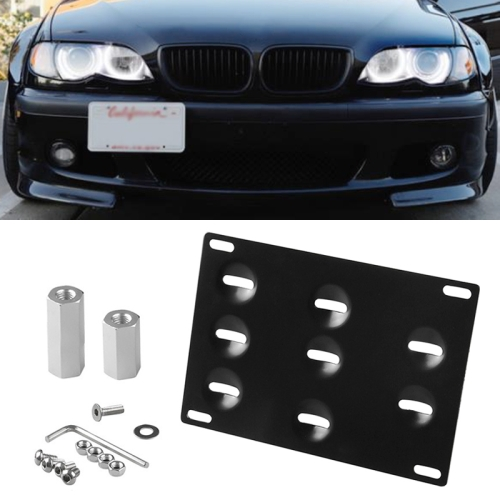 FRONT LICENSE PLATE TAG HOLDER MOUNT ADAPTER BUMPER KIT BRACKET FOR SUBARU NEW
