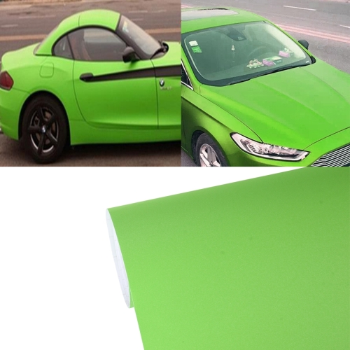 Buy 7.5m * 0.5m Grind Arenaceous Auto Car Sticker Pearl Frosted Flashing Body Changing Color Film for Car Modification and Decoration, Green for $12.43 in SUNSKY store