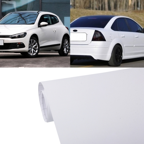 Buy 7.5m * 0.5m Grind Arenaceous Auto Car Sticker Pearl Frosted Flashing Body Changing Color Film for Car Modification and Decoration, White for $12.43 in SUNSKY store