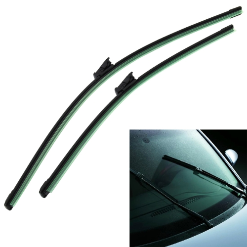 Buy A Pair Natural Rubber Car Wiper Blade Auto Soft Windshield Wiper for Sagitar for $6.12 in SUNSKY store