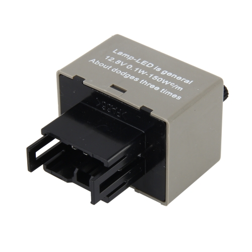 Buy Auto Car-styling DC 12V 8-Pin LED Turn Signal Adjustable Frequency Car Flasher Relay Fix Hyper Flash General Lamp-LED Light Relay for Honda and Lexus for $4.92 in SUNSKY store