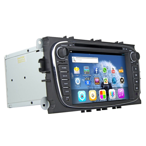 Buy RUNGRACE 7.0 inch TFT Screen Android 6.0 In-Dash Car DVD Player for Ford Mondeo, AllWinner R16 CorteX A7 Quad Core 1.6GHz, 1GB RAM +16GB ROM, WiFi / Bluetooth / GPS / FM / Mirror Link, Support Android and iOS Phones for $241.94 in SUNSKY store