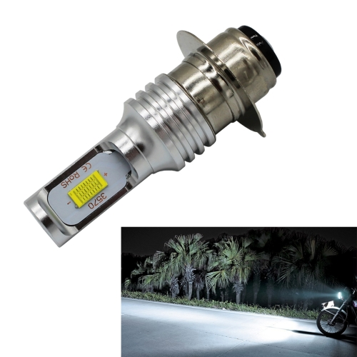 P15D/H6M 1000LM 72W 6000K White Light 2-LED 3570 Bulbs Motorcycle Headlights, DC 12-24V exled electric cars motorcycle led headlights modification lens strong light