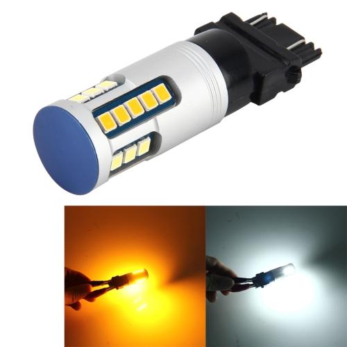 Buy 3157 DC 12V 6000K 5W 600LM 24LEDs SMD-2835 Car Auto Brake Light Turn Lights (White Light, Yellow Light) for $8.99 in SUNSKY store