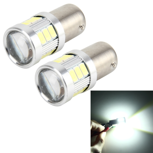 Buy 2 PCS 1156 4W 250 LM 6000K Car Auto Turn Light Backup Light Reversing Lights with 18LEDs SMD-5630 Lamps, DC 10-30V (White Light) for $5.88 in SUNSKY store