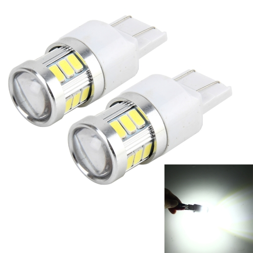 Buy 2 PCS 7440 4W 250 LM 6000K Car Auto Turn Light Backup Light Reversing Lights with 18LEDs SMD-5630 Lamps, DC 10-30V (White Light) for $5.88 in SUNSKY store