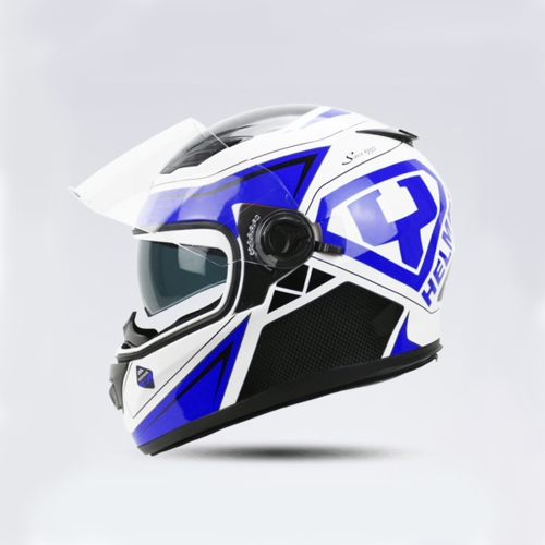 Buy Motorcycle Full Face Riding Helmet Double Lens Motorcycle Men and Women Winter Keep Warm Helmets (Please note the size: S-XXL) for $34.95 in SUNSKY store