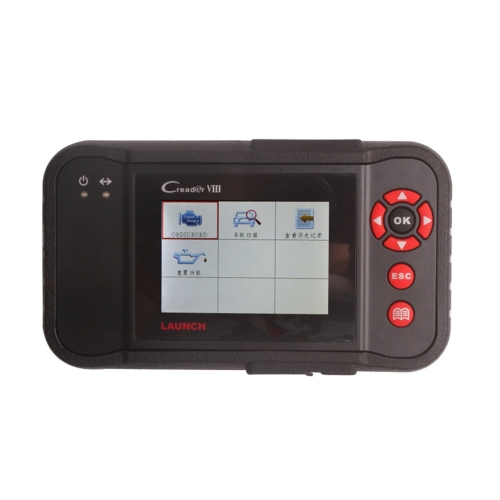 Buy 3.5 inch TFT LCD Display Launch X431 Creader VIII, CRP129 Comprehensive Diagnostic Instrument Code Reader Support Online Update for $211.73 in SUNSKY store
