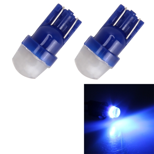 2 PCS T10/W5W/194/501/168 0.6W 35LM 6000K 2835-LED Bulbs Car Reading Lamp Clearance Light, DC 12V(Ice Blue Light) xencn h4 p43t 12v 100 90w teleeye intense brighter light car headlights bulbs uv filter halogen lamp free shipping