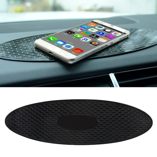 Car Auto Oval Soft Rubber Dashboard Anti-slip Pad Mat for Phone / GPS/ MP4/ MP3, Size: 30*9.5cm d029 dashboard fixed support clips for mobile gps black 2 pcs