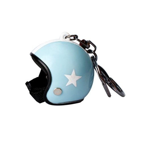 Car Key Chain Pentagon Models Motorcycle Hat Knight Safety Helmet Keychain Car Bag Small Pendant, Random Color Delivery new safurance 200w 12v loud speaker car horn siren warning alarm stainless steel home security safety
