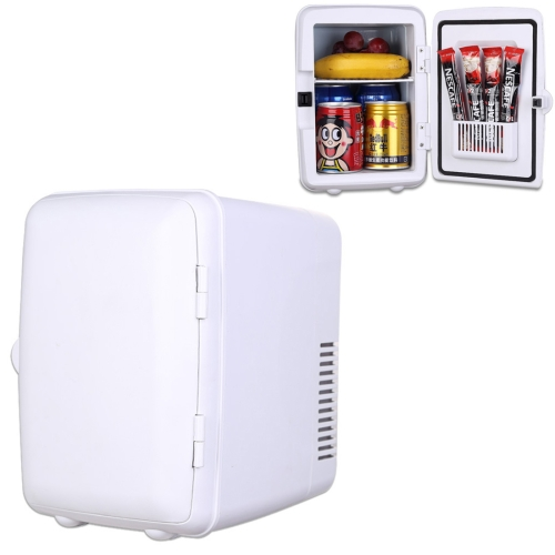 Buy Vehicle Auto Portable Mini Cooler and Warmer 4L Refrigerator for Car and Home, Voltage: DC 12V/ AC 220V, White for $24.70 in SUNSKY store