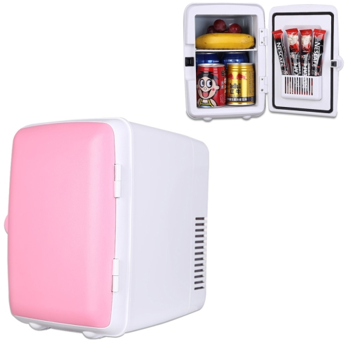 Buy Vehicle Auto Portable Mini Cooler and Warmer 4L Refrigerator for Car and Home, Voltage: DC 12V/ AC 220V, Pink for $24.70 in SUNSKY store