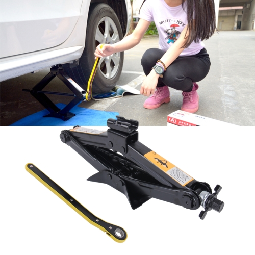 Buy Upright ST-103D Heavy Duty Stabilizer Scissor Jack with Handle Lift Levelers 2000 Pound (1 Ton) Capacity Each 10 to 35 CM Range for $18.72 in SUNSKY store