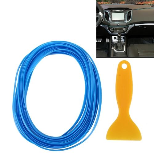 Buy 5m Flexible Trim For DIY Automobile Car Interior Moulding Trim Decorative Line Strip with Film Scraper (Baby Blue) for $1.61 in SUNSKY store