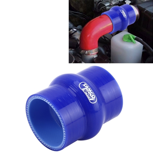 Car Straight Turbo Intake Silicone Hump Hose Connector Silicone Intake Connection Tube Special Turbocharger Silicone Tube Rubber Coupler Silicone Tube, Inner Diameter: 76mm