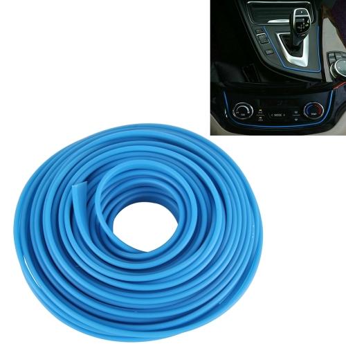 Buy 5m Flexible Trim For DIY Automobile Car Interior Moulding Trim Decorative Line Strip, Blue for $2.67 in SUNSKY store