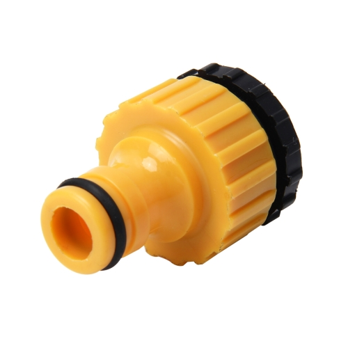 Buy Universal Standard Faucet Hose Connector Quick Connector Washing Machine Water Cannons and A Garden Lawn Sprinkler System Pipe Suit for 1/2inch and 3/4inch Pipe for $1.42 in SUNSKY store