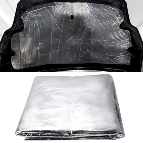 Car Hood Engine Noise Insulation Cotton Heat Waterproof Self Adhesive Car Heat Sound Insulation Cotton, Size: 1 m x 1.2m x 5mm