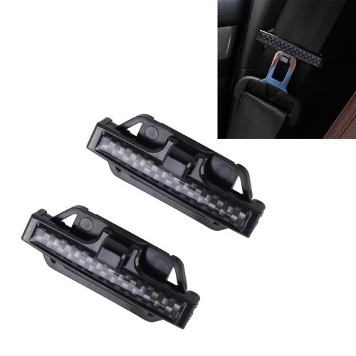 Car Vehicle Seatbelt Seat Belt Safety Regulate Adjust Clip Clamp Stopper Buckle