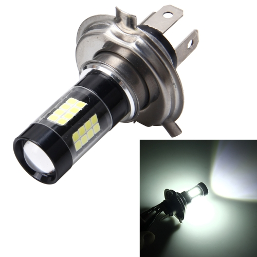 H4 7W 420LM 6000K Car Fog Lights with 42 SMD-3528 LED Lamps, DC 12V(White Light)