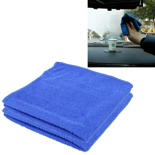 100Pcs Microfiber Washcloth Auto Car Care Cleaning Towels Soft Cloths Tool RF