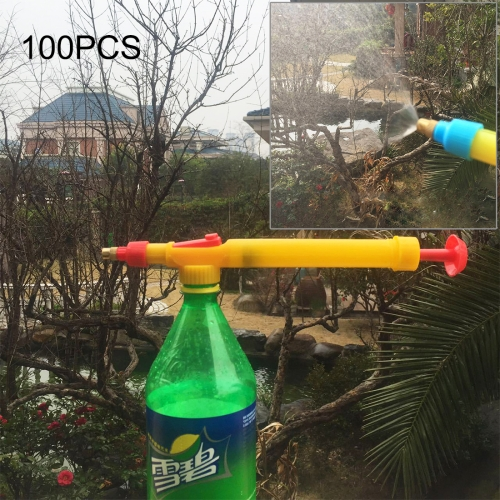 Buy 100 PCS High Pressure Plastic Bottle Drink Beverage Trolley Gun Spray Reciprocating Sprayer Coke Bottle Sprayer Manual Pressure Sprayer for $41.71 in SUNSKY store