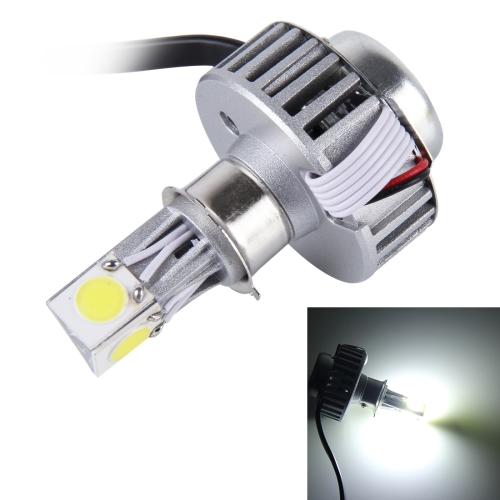 Buy 25W 2500 LM 6000K Motorcycle Headlight with 3 LED Lamps, DC 6-36V (White Light) for $9.41 in SUNSKY store