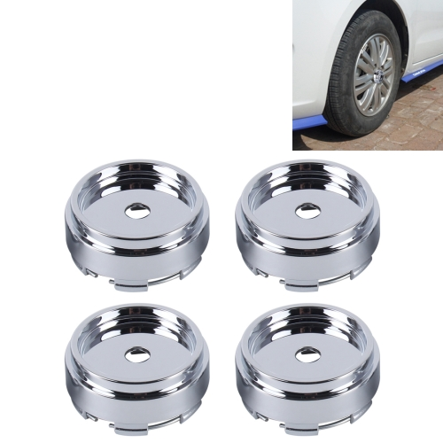 Buy 4 PCS Metal Car Styling Accessories Car Emblem Badge Sticker Wheel Hub Caps Centre Cover for $2.97 in SUNSKY store