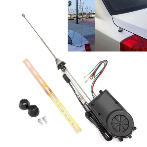 BF-686 Modified Car Automatic Expansion Antenna Aerial фото