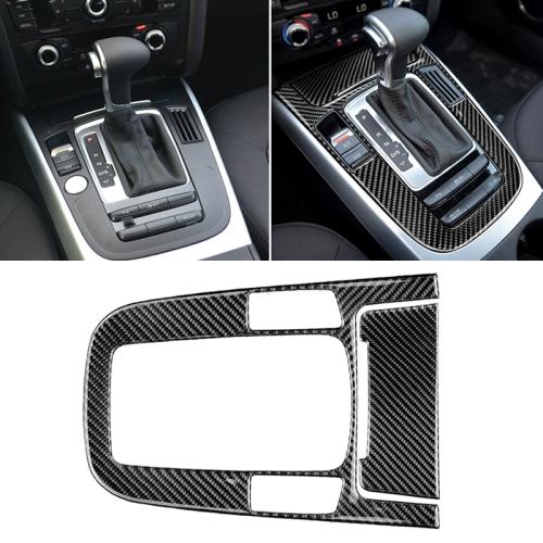 Carbon Fiber Pattern Shift Gear Center Console Panel Frame Cover Trim for Audi A5 A4L Q5 2009-2016 2010-2018