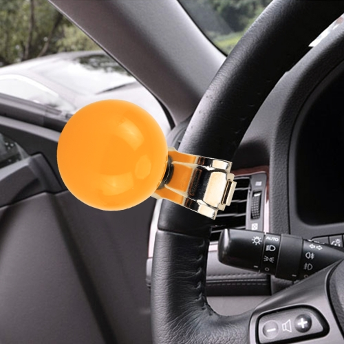 Car steering wheel spinner knob power handle ball hand control ball booster YLW