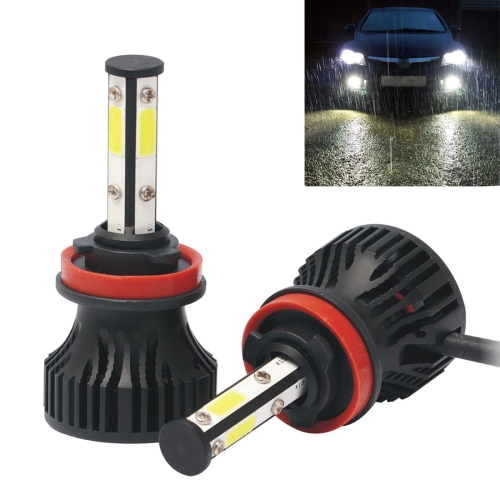 2 PCS X15 H11 DC9-32V 26W 6500K 3000LM IP67 Car LED Headlight Lamps / Fog Light (White Light)