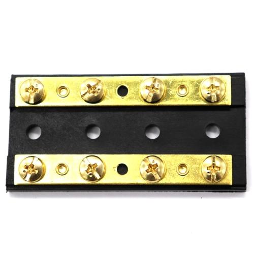 8 Way 4P Power Distribution Dual Bus Bar 8-bit Distribution Box for Car / RV / Boat