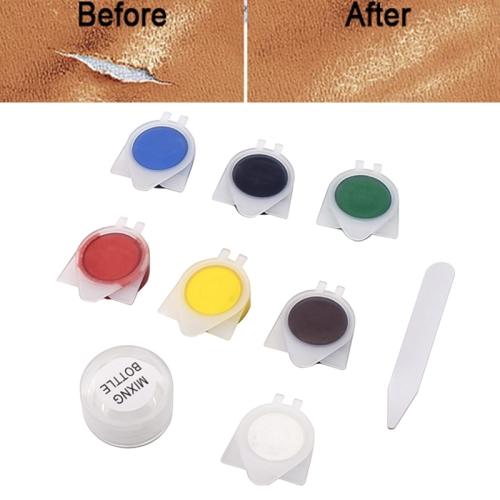 Car Seat Sofa Coats Holes Scratch Cracks Rips Repair Tool Leather Vinyl Repair Kit