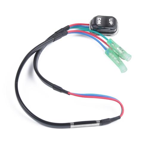12V Trim Tilt Switch Replecement 703-82563-02-00 / 703-82563-01 for Yamaha Outboard Motors