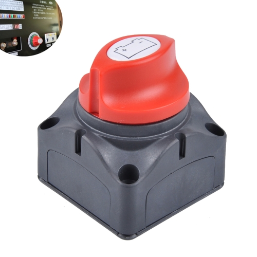 MARINE BOAT YACHT DUAL BATTERY ISOLATOR SELECTOR SWITCH